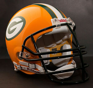 REGGIE WHITE Edition GREEN BAY PACKERS Riddell AUTHENTIC Football Helmet NFL
