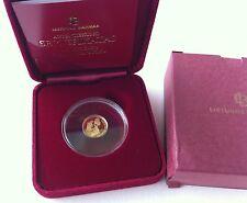 """Lithuania 10 litu 2012 """"Lithuanian science"""" PROOF Gold Au 999.9"""
