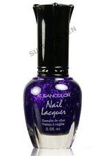 Kleancolor Collection Nail Polish # 36 Sparkle Purple  5 fl.oz