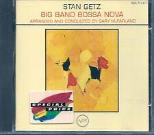 CD ALBUM 8 TITRES--STAN GETZ--BIG BAND BOSSA NOVA--1962