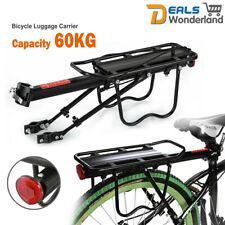 Sturdy Bicycle Pannier Rear Rack Seat Post Luggage Carrier Bag Mountain Bike AU