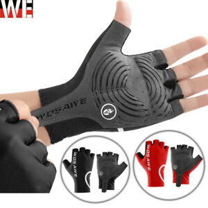 Unisex Cycling Gloves Half Finger MTB Bicycle Gel Padded Fingerless Gloves Gifts