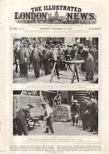 1917 London News September 22 - China monarchy lasts 12 days; Gallant Russians