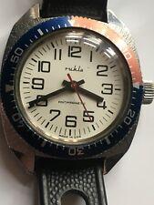 Vintage RARE Men RUHLA DIVER ORIGINAL GDR SPORT Wrist Watch COLLECTION TOP