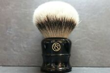 FS Shaving Brush Rasierpinsel Silvertip Silberspitz 40mm knot 55mm loft like new