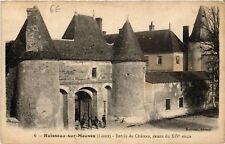 CPA  Huisseau-sur-Mauves - Entrée du Chateau  (632056)