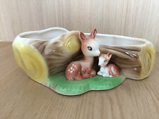 Hornsea Fauna Withernsea Eastgate: Fauns Sat Beside Log Vase, No 16