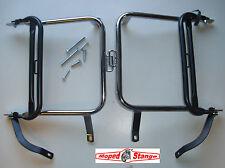 S51 S50 S70 Gepäckträger Seitengepäckträger SET schwarz Chrom passend f. Simson