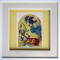 """Marc CHAGALL Lithograph LIMITED Ed. """"Naphtali"""" + Cat .Ref.c49 ++Gallery Framing"""
