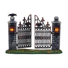 Dept 56 Halloween 2015 Spooky Wrought Iron Gate #4047599 Nib Free Ship 48 States