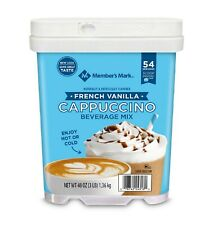 Member's Mark French Vanilla Cappuccino Beverage Mix 48 oz. - FREE SHIPPING
