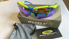 RUDY Project Tralyx LTD sunglasses / yellow frame / blue temples