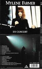 COFFRET (BOX SET) 2 CD 18 TITRES MYLÈNE FARMER EN CONCERT DE 1989 1er PRESSAGE
