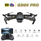 GD89 PRO RC Drone 4K Camera Auto Avoid Obstacle Gravity Sensor Quadcopter B3D6