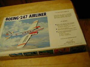 Williams Brothers 1/72 Scale Boeing 247 Airliner #72-247 New in box Model Kit