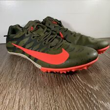 NIKE ZOOM RIVAL TRACK & FIELD SPIKES 907564-301 Green & Carmine Pink SIZE 6.5