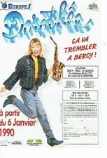 Publicité Advertising   077  1989  Dorothée en concert  Bercy & radio Europe 1