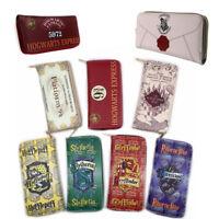 Harry Potter Lang / kurz Brieftasche Geldbörse Reißverschluss Geldtasche