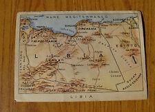 CARTOLINA MILITARE GUERRA CARTINA LIBIA VIAGGIATA DEL 1942 SUBALPINA YY