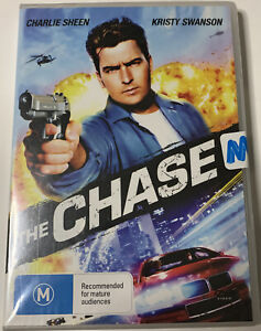 The Chase DVD Charlie Sheen, Kristy Swanson - New and Sealed *FREE SHIPPING*