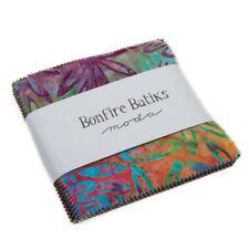 "Moda FABRIC Charm Pack ~ BONFIRE BATIKS ~ by Moda 40 - 5"" squares"