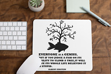 Everyone is a Genius Non Slip Mouse Mat / Mouse Pad