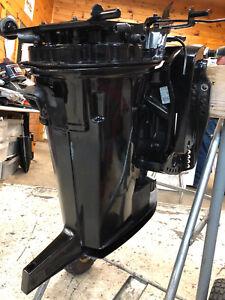 """1999 Mercury 150 HP 2 Stroke Exhaust Housing 20 """" Swivel Bracket Freshwater MN"""