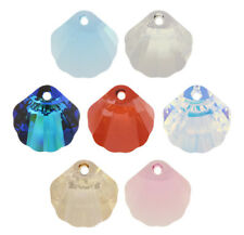 Genuine SWAROVSKI 6723 Shell Crystals Pendants * Many Colors & Sizes
