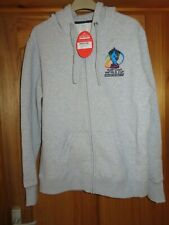 RUGBY WORLD CUP 2013 ENGLAND & WALES LADIES ZIP UP HOODIE - SIZE LARGE - BNWT