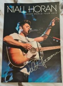 Niall Horan Flicker Hand Signed Poster One Direction