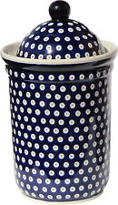 Polish Pottery Canister 10 Cups  1244-42 from Zaklady