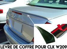 LEVRE COFFRE SPOILER BECQUET AILERON pour MERCEDES W209 CABRIOLET CLK 2003-2009