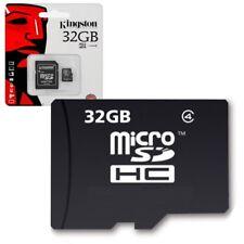 Carte Mémoire Micro SD 32 Go classe 4 Pour Motorola MOTO E 4G