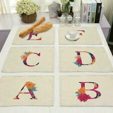 Pattern Insulation Placemat Dining Room Coffee Table Pad Kitchen Home Mat C5T0