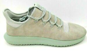 Adidas Tubular Shadow Ash Silver Chalk White Men's Shoes Size 11.5 Running