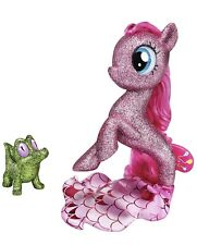 My Little Pony: The Movie 6 Inch Pinkie Pie Sea Pony and Light-Up Base NEW