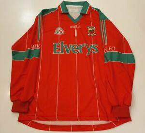 Mayo Goal Keeper GAA Gaelic Hurling Top Jersey Shirt Size Medium M. O'Neills