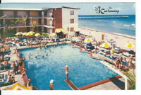 CA-483 FL Miami Beach, The Castaways Hotel Motel Chrome Postcard