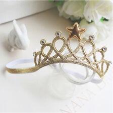 Princess Crown Headwear Headbands  Bow Girls Toddler Baby Kids Accessories Hair