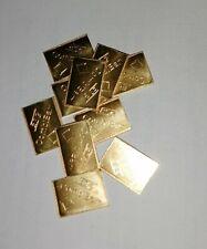 1g gramm Goldbarren Tafelbarren CombiBar ESG Valcambi Suisse Feingold 99,99%