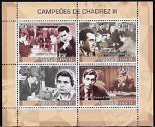 Guinea-Bissau 2008 Chess Champions III: Tal, Petrosian, Spassky, Fischer - pw68