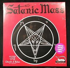 SATANIC MASS Recorded Live at Church of Satan Purple Vinyl Anton Szandor LaVey