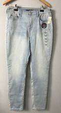 AEROPOSTALE WOMENS 12R SERIOUSLY STRETCHY HIGH WAISTED DENIM SKINNY JEGGING NWT