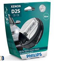 PHILIPS D2S X-tremeVision GEN2 Xenon Headlight Bulb HID 4800K 85122XV2S1 1 Piece
