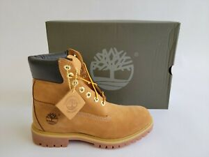 """Timberland Classic 6"""" Premium Wheat Leather Waterproof Winter Boot for Men"""