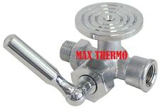 "Angelo-Po, Foem, Silko pressure gauge tap IT 1/4"" ET 1/4"""