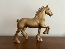 *Gold* Peter Stone Model Horse - 1998 Holiday Trotting Drafter Htc Live 1999