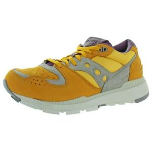 Saucony Mens Azura Weathered Luxury Leather Fitness Sneakers Athletic BHFO 7865
