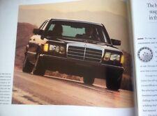 1991 Mercedes Benz 560SEL W126 560 SEC 420SEL Dealer Sales Brochure 560SEC C126