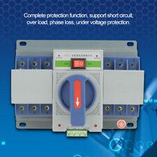 220V 63A 3P Mini Smart Dual Power Automatic Transfer Switch Circuit Breaker US